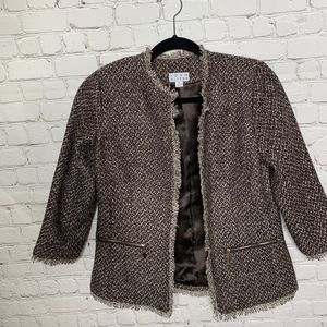 Joan Rivers Tweed Blazer